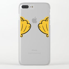 Shell Bra Clear iPhone Case