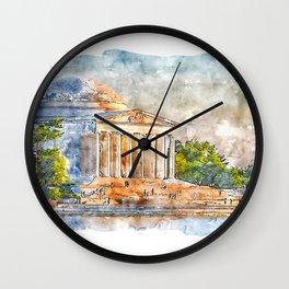 Thomas Jefferson Memorial Wall Clock