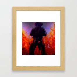 Cowboy 2 Framed Art Print