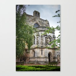 Rosslyn Chapel outside Edinburgh, Scotland Canvas Print