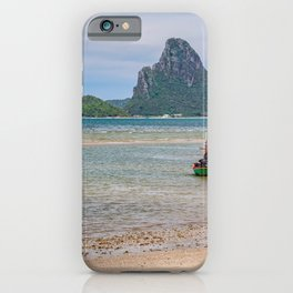 Three Boats Thailand iPhone Case