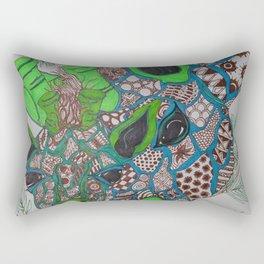 A Giraffe's Love Rectangular Pillow