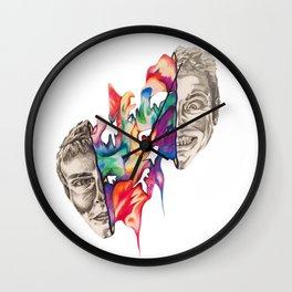 Splitting Heads Wall Clock