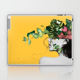 Lady Flowers Laptop & iPad Skin
