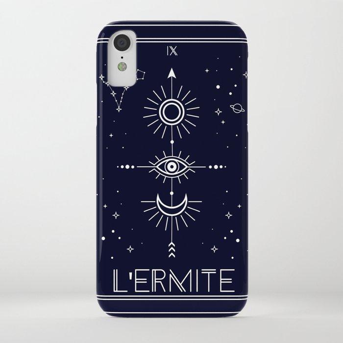 The Hermite or L'Ermite Tarot iPhone Case