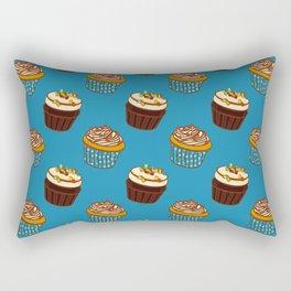 Pattern-cupcakes,-sweets,-food,-dessert,-dragee Rectangular Pillow
