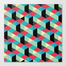 Isometrix 001 Canvas Print