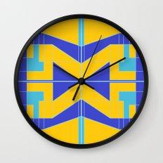 Go Blue Wall Clock