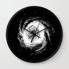 Spiral Galaxy 1 Wall Clock