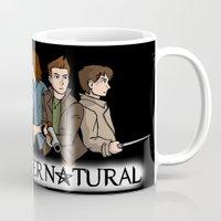 supernatural Mugs featuring Supernatural by KewlZidane