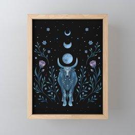 Year of the Ox Framed Mini Art Print