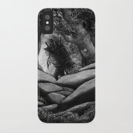 Follow the Woodcutter iPhone Case