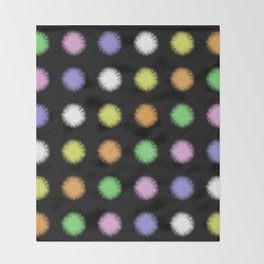 Rainbow Fuzz Throw Blanket