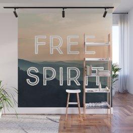 Free Spirit (Mountains) Wall Mural