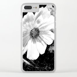Flower Of The Universe Clear iPhone Case