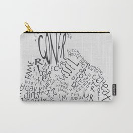Man Made Up Of Songs Carry-All Pouch