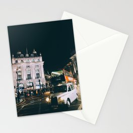 Piccadilly Cirkus by Night Stationery Cards
