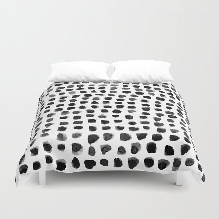 Watercolor Dots Bettbezug