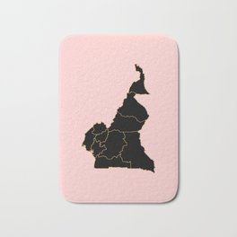 Cameroon map Bath Mat