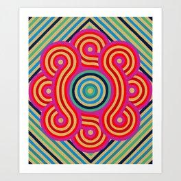 Cosmic Vibrations Within Art Print
