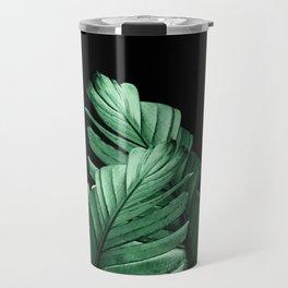 Green Banana Leaves Dream #2 #tropical #decor #art #society6 Travel Mug