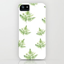 Forest Farn iPhone Case