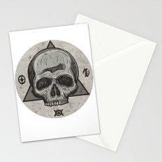Skull & symbols Stationery Cards