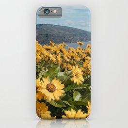 Oregon Summer Wildflower Hillside Meadow iPhone Case
