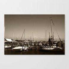 Salt water sound  Canvas Print