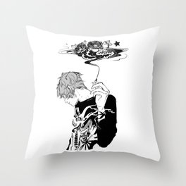 Blackthorn Throw Pillow