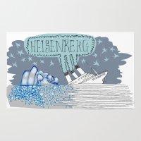 heisenberg Area & Throw Rugs featuring Heisenberg  by Jamie Clayton