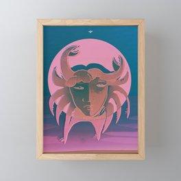 The Crab Framed Mini Art Print