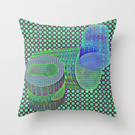 Screened fantasy to play ... Throw Pillow