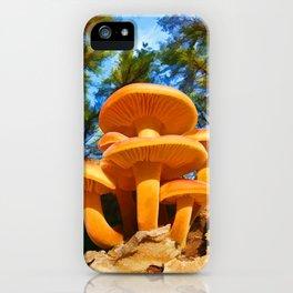 Blackbird Mushrooms iPhone Case