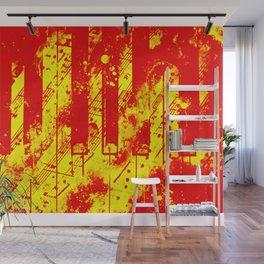 piano keys and music sheet pattern wsry Wall Mural