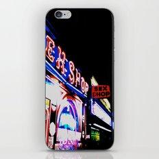 Sex Shop iPhone & iPod Skin