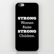 Strong Women. iPhone & iPod Skin