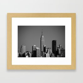 New York City Skyline 2012 Framed Art Print