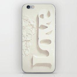 Love & Doilies iPhone Skin