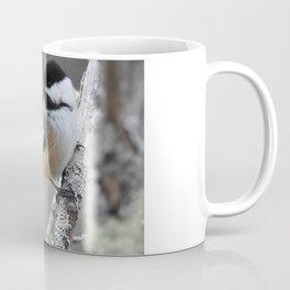 Chickadee on a Stick Coffee Mug