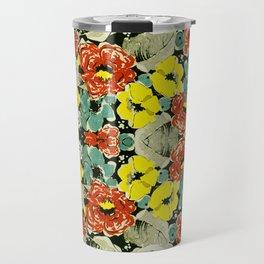 Floral Impressions Travel Mug