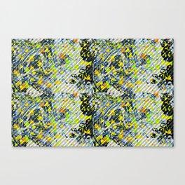 Splatter Slant Canvas Print