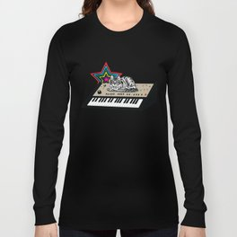 Synth Cat Long Sleeve T-shirt