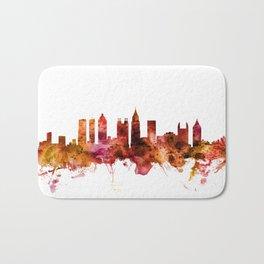 Atlanta Georgia Skyline Bath Mat