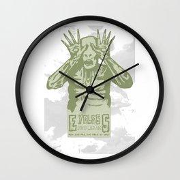 Eyeless Wall Clock
