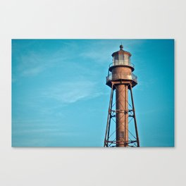 Lighthouse Point Sanibel Canvas Print