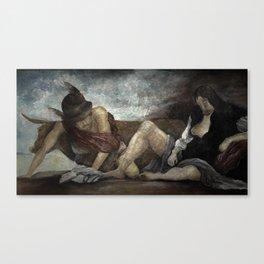 My version of Velasquez Canvas Print