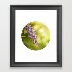 Violet in Mundet Framed Art Print