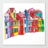 italy Canvas Prints featuring Italy by Dheiuk