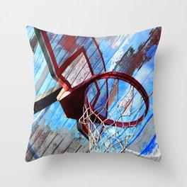 Basketball vs 83 Throw Pillow